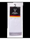Гетры футбольные JA-003, белый/серый