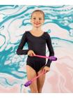 Булавы для художественной гимнастики Exam, 40,5 см, фиолетовый/розовый