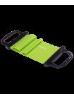 Эспандер ленточный ES-202 жесткая ручка, зеленый
