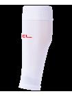 Гольфы футбольные JA-002, белый/красный