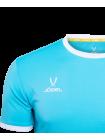 Футболка футбольная CAMP Origin JFT-1020-B1, бирюзовый/белый