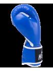 Перчатки боксерские Wolf Blue, кожа, 14 oz