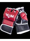 Перчатки для MMA Wasp Red, к/з, S
