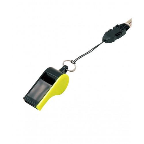 Свисток WH-10, черный/желтый
