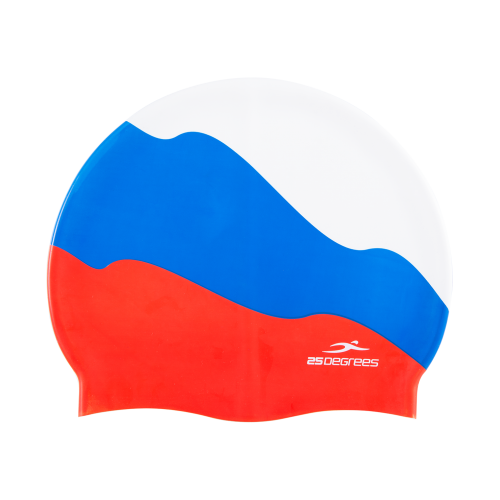 Шапочка для плавания Russia, силикон