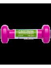 Гантель виниловая DB-101 0,5 кг, розовая