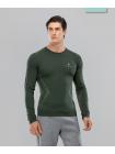 Мужская футболка с длинным рукавом Smartknit FA-ML-0103-KHK, хаки