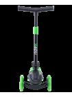 Самокат 3-колесный Robin, 120/90 мм, неоновый зеленый