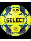 Мяч футбольный X-Turf IMS 810118, №5, желтый/черный/синий