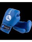 Набор для бокса 4oz, к/з, черный/синий