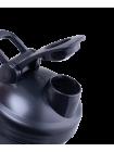 Шейкер STARFIT PRO FB-200, с металлическим венчиком, серый/черный