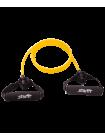 Эспандер многофункциональный ES-602 6х9х1400 мм, желтый