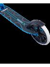Самокат 2-колесный Sigma 200 мм, ручной тормоз, черный/голубой