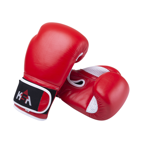 Перчатки боксерские Wolf Red, кожа, 14 oz