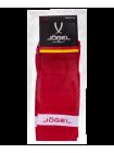 Гетры футбольные JA-003, красный/белый