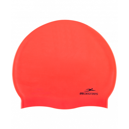 Шапочка для плавания Nuance Red, силикон
