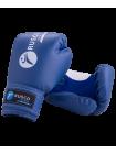 Перчатки боксерские детские, 6oz, к/з, синий