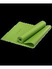 Коврик для йоги FM-101, PVC, 173x61x0,8 см, зеленый