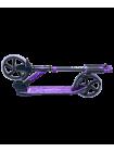 Самокат 2-колесный Marvellous 200 мм, черный/фиолетовый