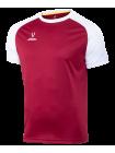 Футболка игровая CAMP Reglan Jersey JFT-1021-G1, гранатовый/белый