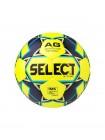 Мяч футбольный X-TURF, №5, жел/чер/син
