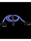 Эспандер лыжника-пловца ES-901, 4х14х2200 мм, 6 кг, синий