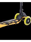 Самокат 3-колесный Robin, 120/90 мм, неоновый желтый