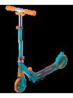 Самокат 2-колесный Razzle 145 мм, зеленый/оранжевый