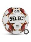 Мяч футбольный FLASH TURF, №5, бел/крас/оранж