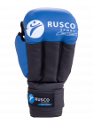 Перчатки для рукопашного боя, к/з, синие