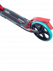 Самокат 2-колесный Rank 200 мм, ручной тормоз, мятный/красный