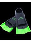 Ласты тренировочные Aquajet Black/Green, XXS