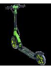 Самокат 2-колесный Stratus 230/200 мм, ручной тормоз, зеленый