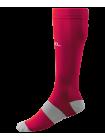 Гетры футбольные JA-006 Essential, гранатовый/серый